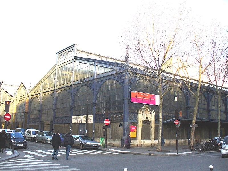 Photo du Monument Historique Marché du Temple situé à Paris 3e Arrondissement