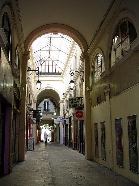 Photo du Monument Historique Passage Vendôme et immeubles situé à Paris 3e Arrondissement