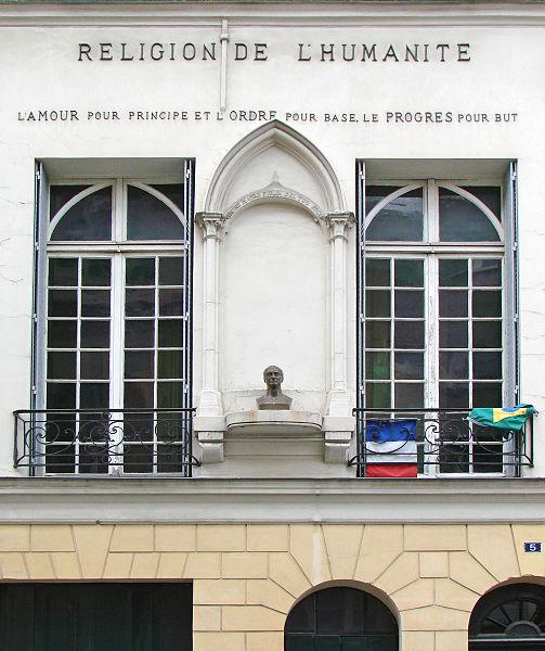 Photo du Monument Historique Temple de l'Humanité ou du Positivisme situé à Paris 3e Arrondissement