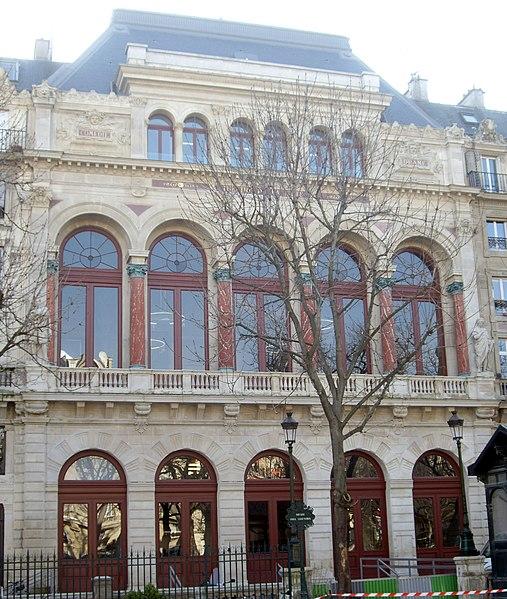 Photo du Monument Historique Théâtre de la Gaité Lyrique situé à Paris 3e Arrondissement