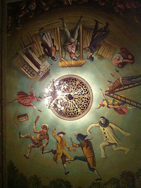 Photo du Monument Historique Théâtre Dejazet situé à Paris 3e Arrondissement
