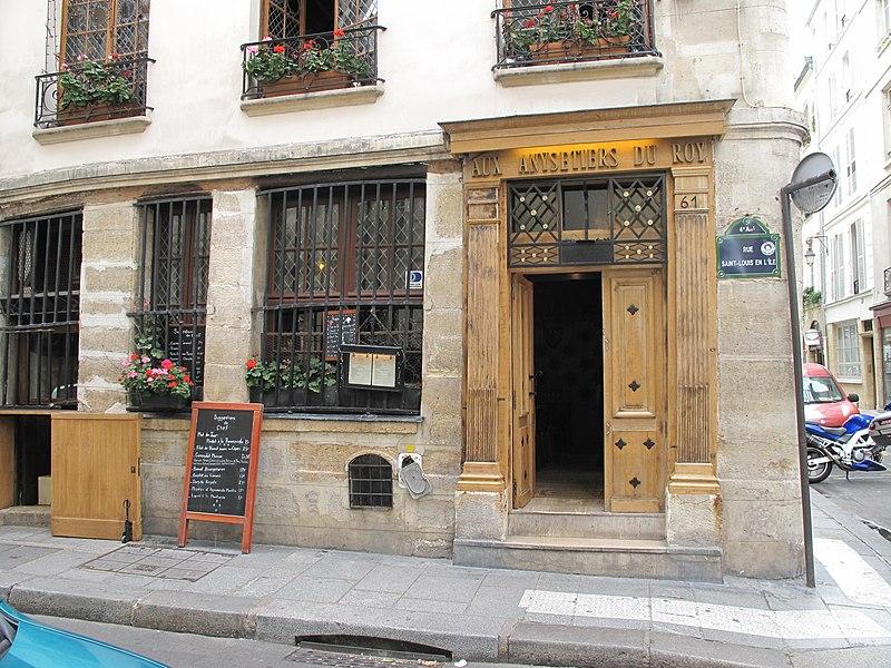 Photo du Monument Historique Boutique situé à Paris 4e Arrondissement
