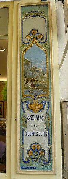Photo du Monument Historique Crèmerie situé à Paris 4e Arrondissement