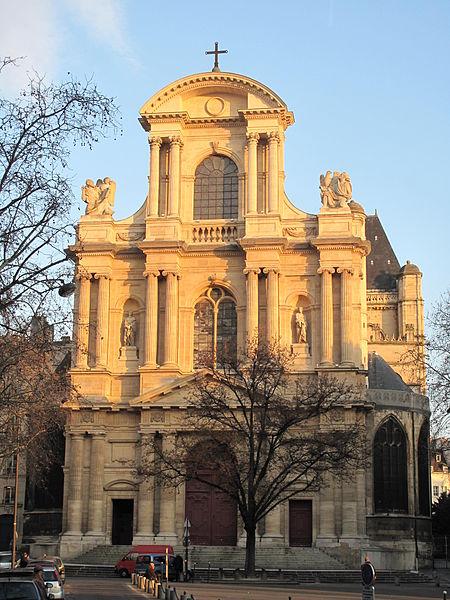 Photo du Monument Historique Eglise Saint-Gervais-Saint-Protais situé à Paris 4e Arrondissement