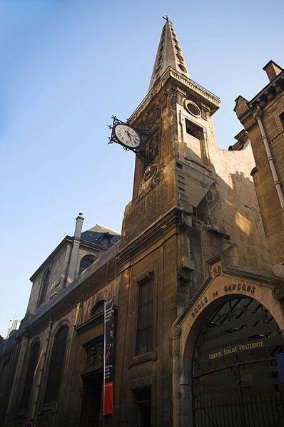 Photo du Monument Historique Eglise Saint-Louis-en-l'Ile situé à Paris 4e Arrondissement