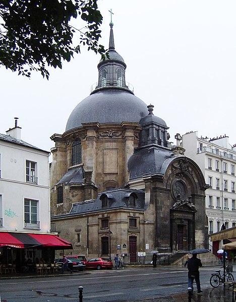 Photo du Monument Historique Temple du Marais ou temple Sainte-Marie (ancienne chapelle du couvent des filles de la Visitation dite église de la Visitation) situé à Paris 4e Arrondissement