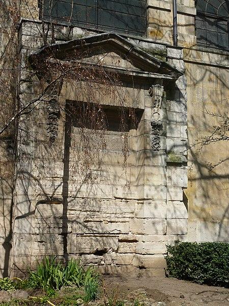Photo du Monument Historique Fontaine des Guillemites situé à Paris 4e Arrondissement