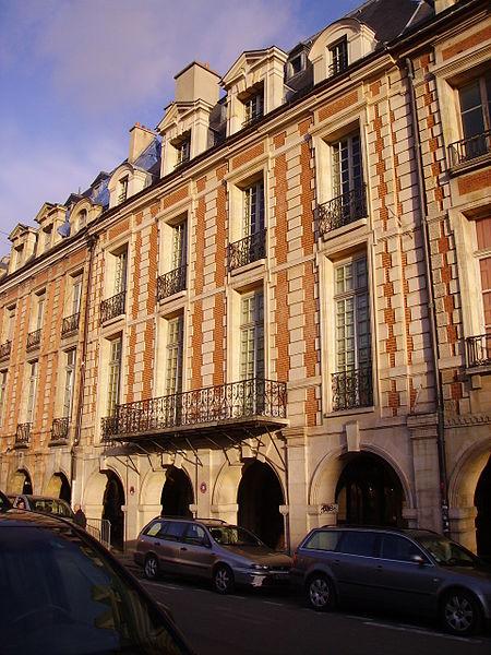 Photo du Monument Historique Hôtel d'Angennes de Rambouillet situé à Paris 4e Arrondissement