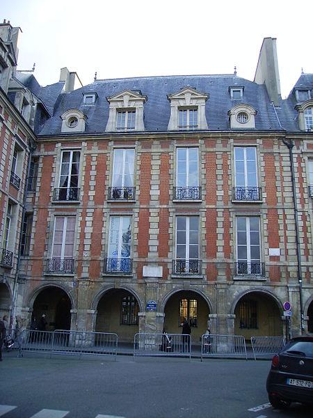 Photo du Monument Historique Hôtel Arnaud ou de Rohan-Guéménée situé à Paris 4e Arrondissement