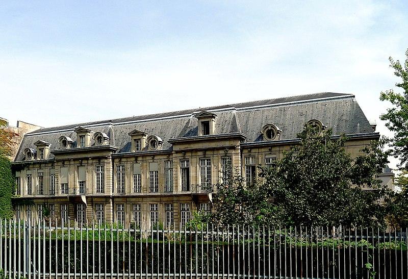 Photo du Monument Historique Hôtel d'Aumont situé à Paris 4e Arrondissement