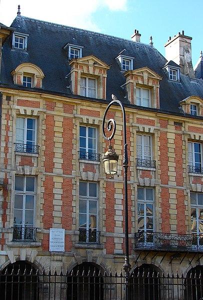 Photo du Monument Historique Hôtel Coulanges situé à Paris 4e Arrondissement