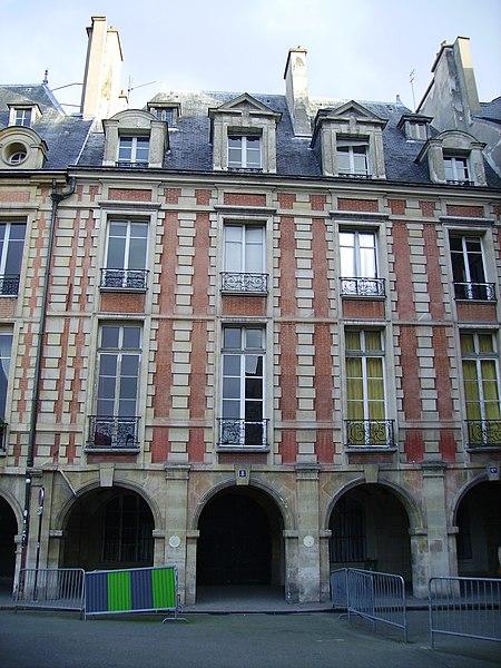 Photo du Monument Historique Hôtel de Fourcy situé à Paris 4e Arrondissement