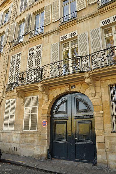 Photo du Monument Historique Ancien hôtel de Jassaud situé à Paris 4e Arrondissement