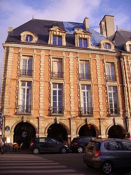Photo du Monument Historique Hôtel Laffemas situé à Paris 4e Arrondissement