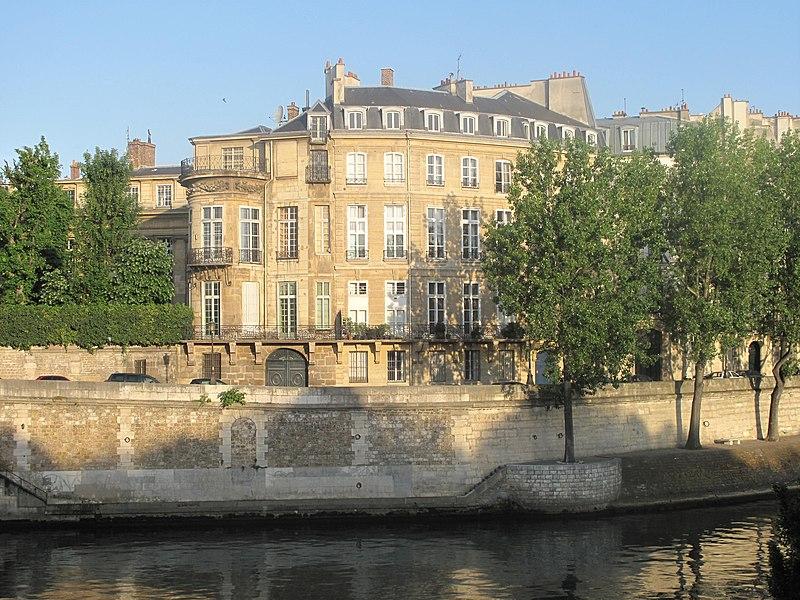 Photo du Monument Historique Hôtel Lambert situé à Paris 4e Arrondissement