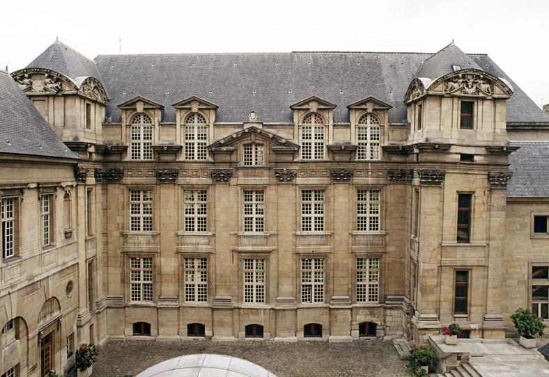 Photo du Monument Historique Hôtel Lamoignon ou ancien hôtel d'Angoulême situé à Paris 4e Arrondissement
