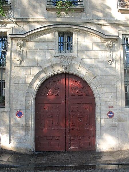 Photo du Monument Historique Ancien hôtel dit Hôtel Le Charron ou de Vitry situé à Paris 4e Arrondissement