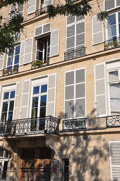 Photo du Monument Historique Hôtel Lefebure de la Malmaison situé à Paris 4e Arrondissement