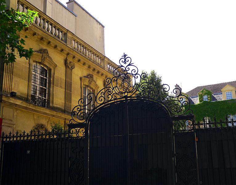 Photo du Monument Historique Hôtel Mansart situé à Paris 4e Arrondissement