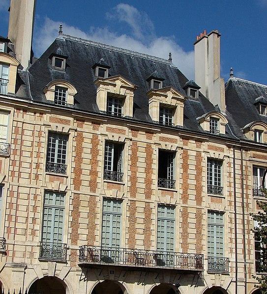 Photo du Monument Historique Ancien Hôtel Marchand situé à Paris 4e Arrondissement