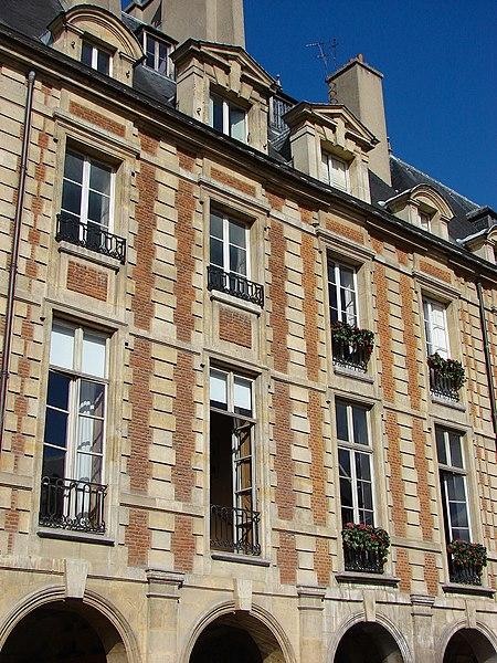 Photo du Monument Historique Ancien hôtel Marchand ou hôtel de Montbrun situé à Paris 4e Arrondissement
