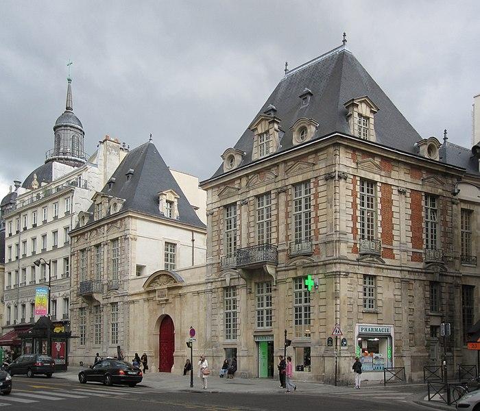 Photo du Monument Historique Ancien hôtel de Mayenne, actuellement Ecole des Francs-Bourgeois situé à Paris 4e Arrondissement