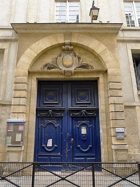 Photo du Monument Historique Hôtel Meiland situé à Paris 4e Arrondissement