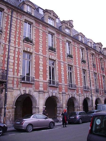 Photo du Monument Historique Ancien hôtel de Montmorin situé à Paris 4e Arrondissement
