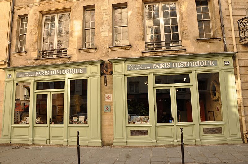 Photo du Monument Historique Hôtel d'Ourscamp ou de Marsande, dit aussi Maison de l'Ours situé à Paris 4e Arrondissement