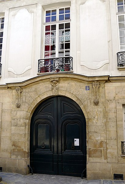 Photo du Monument Historique Hôtel des Parlementaires de la Fronde situé à Paris 4e Arrondissement
