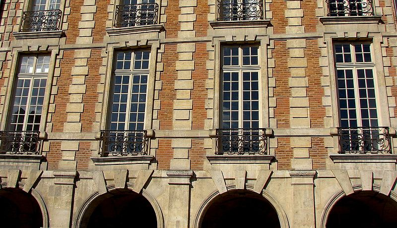 Photo du Monument Historique Ancien Hôtel Pierrard, dit aussi hôtel Colbert-de-Villacerf ou de Creil ou Voisenon situé à Paris 4e Arrondissement