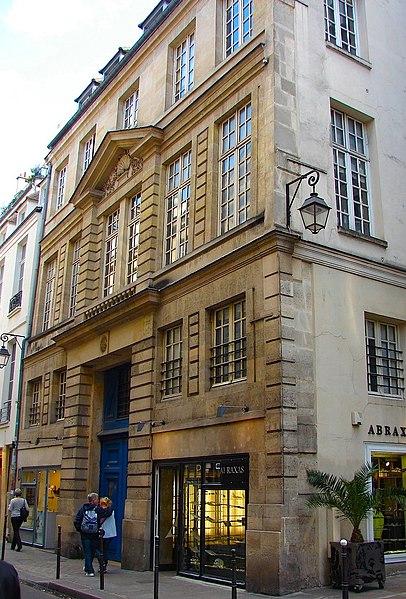 Photo du Monument Historique Hôtel Pottier de Blancmesnil situé à Paris 4e Arrondissement