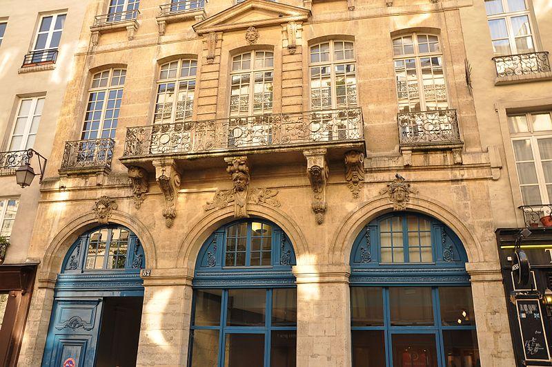 Photo du Monument Historique Hôtel du Président Hénault (ou Hainault) de Cantorbe situé à Paris 4e Arrondissement