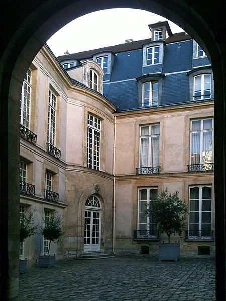Photo du Monument Historique Ancien hôtel de Vibraye situé à Paris 4e Arrondissement