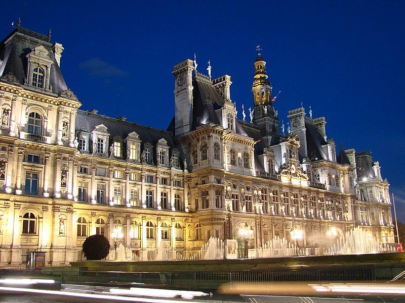 Photo du Monument Historique Hôtel de ville situé à Paris 4e Arrondissement