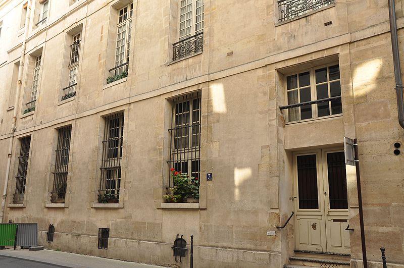 Photo du Monument Historique Ancien hôtel situé à Paris 4e Arrondissement