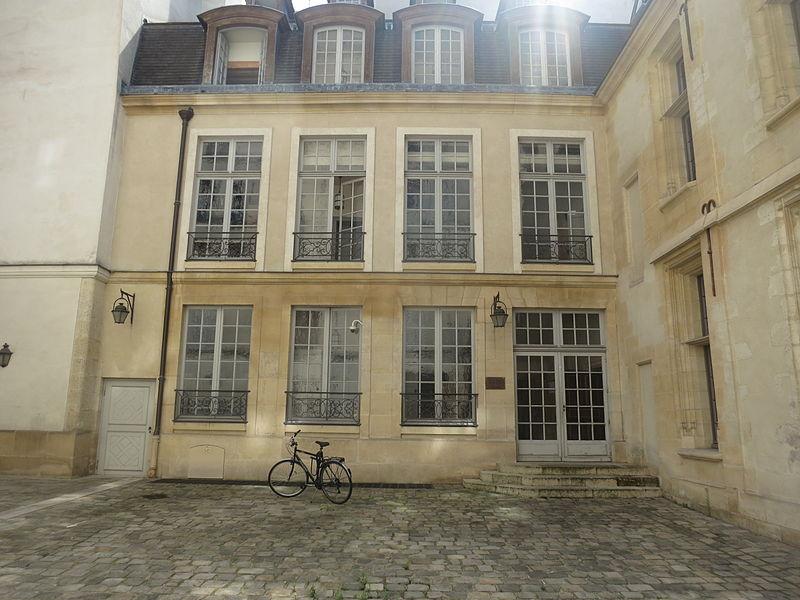 Photo du Monument Historique Ancien hôtel Raoul de la Faye situé à Paris 4e Arrondissement
