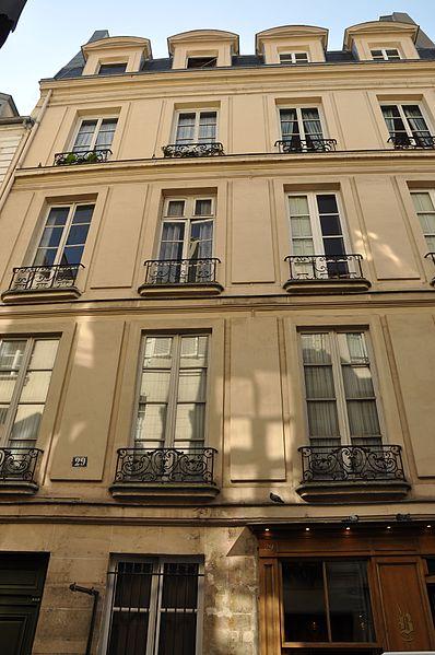 Photo du Monument Historique Hôtel situé à Paris 4e Arrondissement
