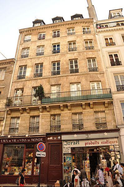 Photo du Monument Historique Immeubles sur cour situé à Paris 4e Arrondissement