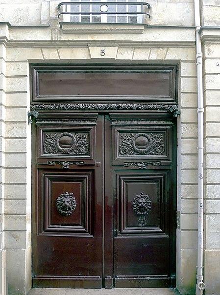 Photo du Monument Historique Maison situé à Paris 4e Arrondissement