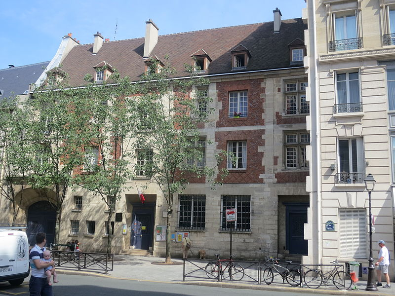 Photo du Monument Historique Maison dite de Jacques Coeur situé à Paris 4e Arrondissement