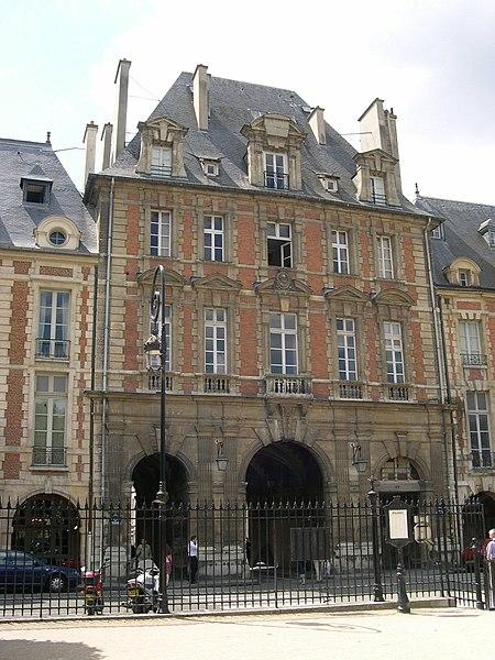 Photo du Monument Historique Pavillon du Roi situé à Paris 4e Arrondissement