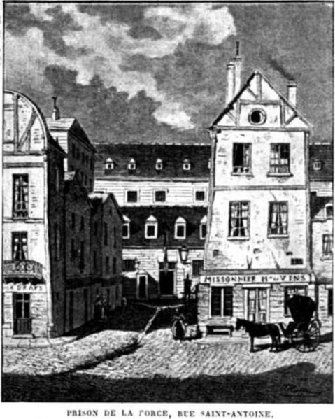 Photo du Monument Historique Prison de la Force (restes de la) situé à Paris 4e Arrondissement