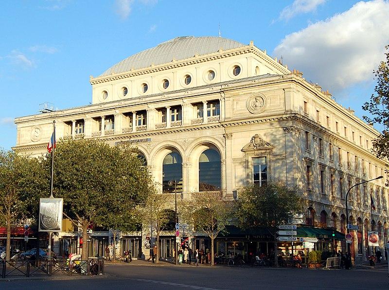 Photo du Monument Historique Théâtre de la Ville situé à Paris 4e Arrondissement