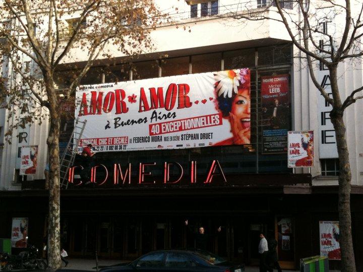 Photo du Monument Historique Cinéma l'Eldorado situé à Paris 10e Arrondissement