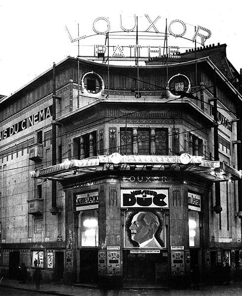 Photo du Monument Historique Cinéma Le Louxor situé à Paris 10e Arrondissement