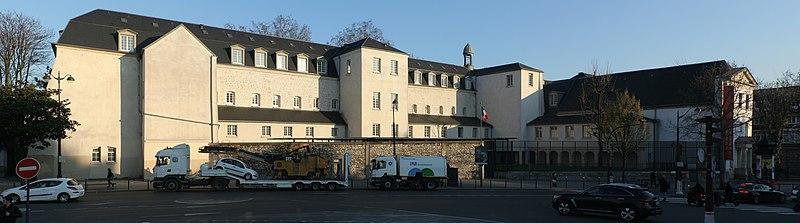 Photo du Monument Historique Ancien couvent des Récollets ou ancien hôpital Villemin situé à Paris 10e Arrondissement