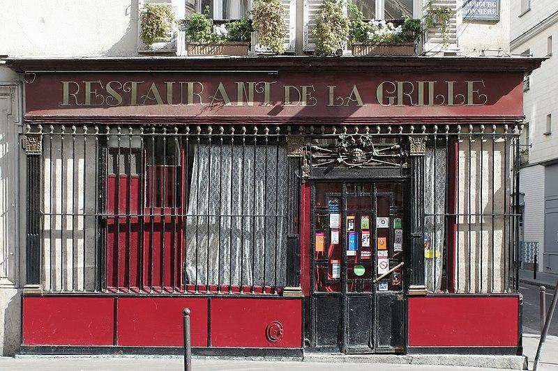 Photo du Monument Historique Ancien débit de boisson situé à Paris 10e Arrondissement
