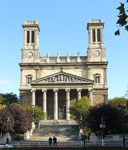 Photo du Monument Historique Eglise Saint-Vincent-de-Paul situé à Paris 10e Arrondissement