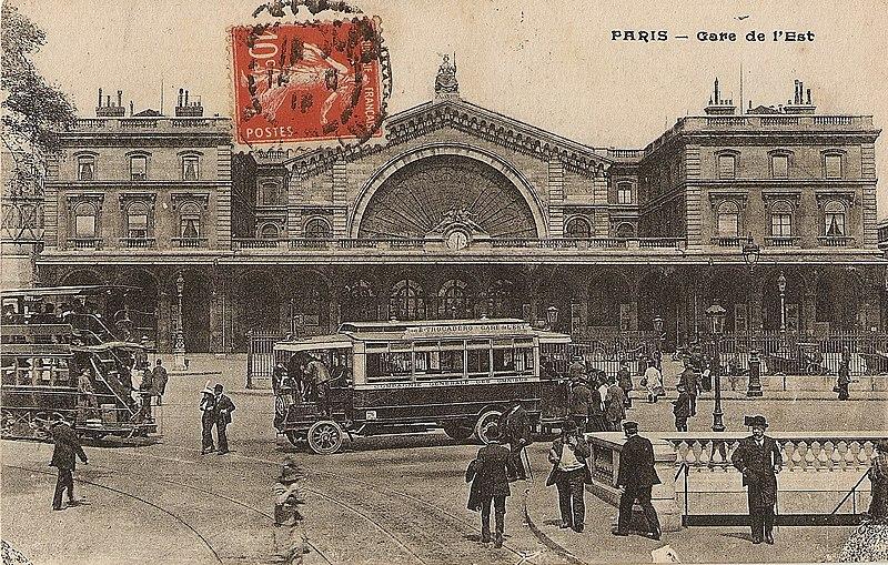 Photo du Monument Historique Gare de l'Est situé à Paris 10e Arrondissement